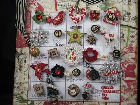 Calendar upclose
