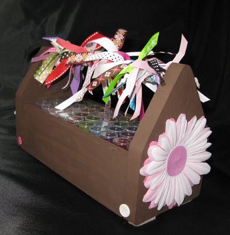 Glitter tool box