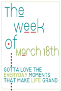 Week of March 18th